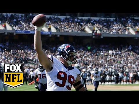 J.J. Watt Catches 1st Career TD Pass And Randy Moss Is Impressed