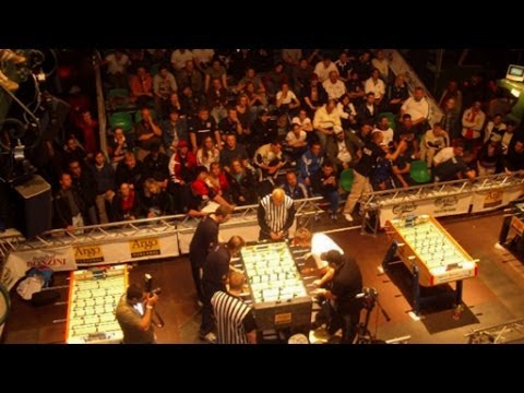 "Clip from ""One Night in Hamburg"". Foosball's Greatest Match?"