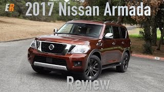 NEW 2017 Nissan Armada Review - Style, Size and Luxury