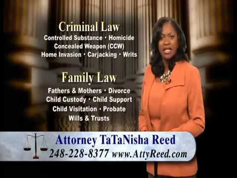 Top Criminal Family Lawyer Detroit Southfield MI | Call TaTaNisha Reed at 248-228-8377