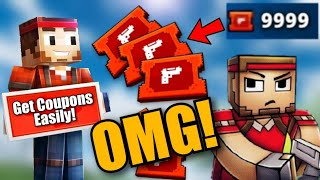 How to Get Coupons Faster and Easier in Pixel Gun 3D