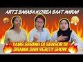 BELAJAR ARTI BAHASA KOREA SAAT MARAH YANG SERING DI SENSOR DI DRAMA DAN VERITY SHOW