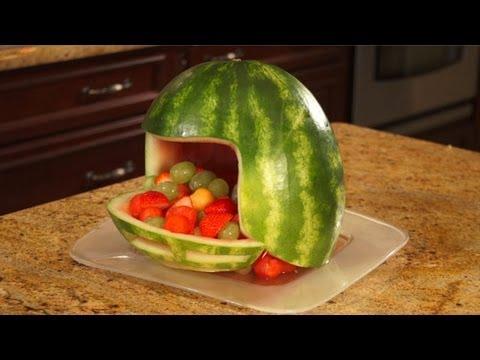 How To Carve A Watermelon Football Helmet - YouTube 985026260b1c