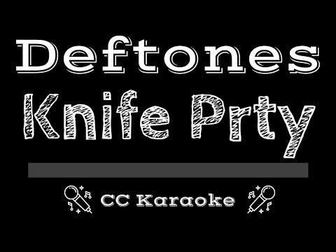 Deftones   Knife Prty CC Karaoke Instrumental