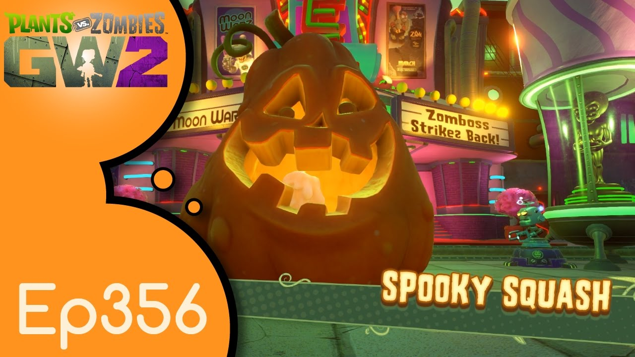 PVZ Garden Warfare 2 - Ep356 - Tale of the Spooky Squash - #PVZGW2 ...