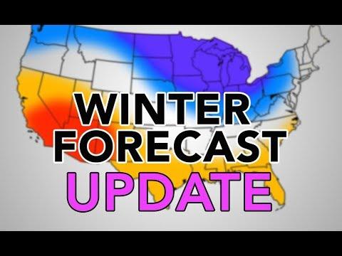 2017-18 Winter Forecast UPDATE