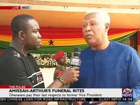 Amissah-Arthur's Funeral Rites - The Pulse on JoyNews (26-7-18)