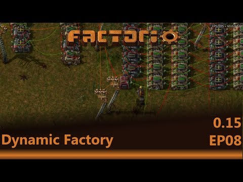 Factorio : Dynamic Factory Lets Play EP08 - More brain work