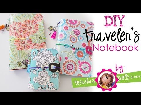 DIY Traveler's Notebook - Fun Foam Craft Journal & Scrapbook Paper