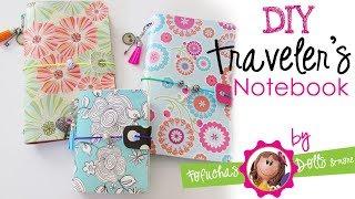 DIY Traveler's Notebook - Fun Foam Craft Journal & Scrapbook Paper