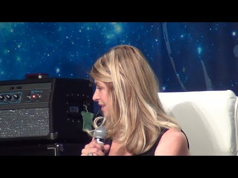 Kirstie Alley  Appearing at her First Convention. Star Trek 50th Las Vegas 2016.