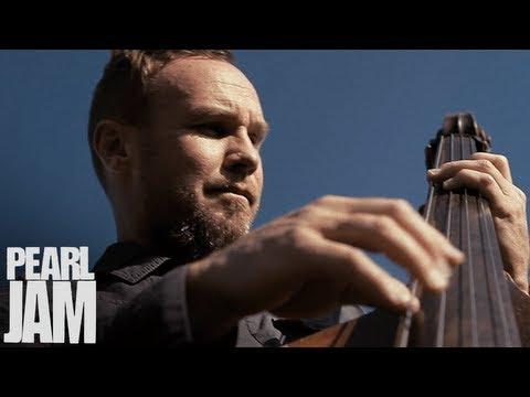 Jeff Ament Playing Upright Bass - Lightning Bolt Vignette - Pearl Jam