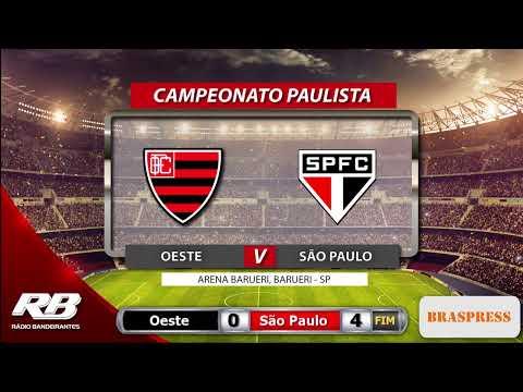 ?Campeonato Paulista - Oeste X São Paulo - 22/02/2020 - AO VIVO