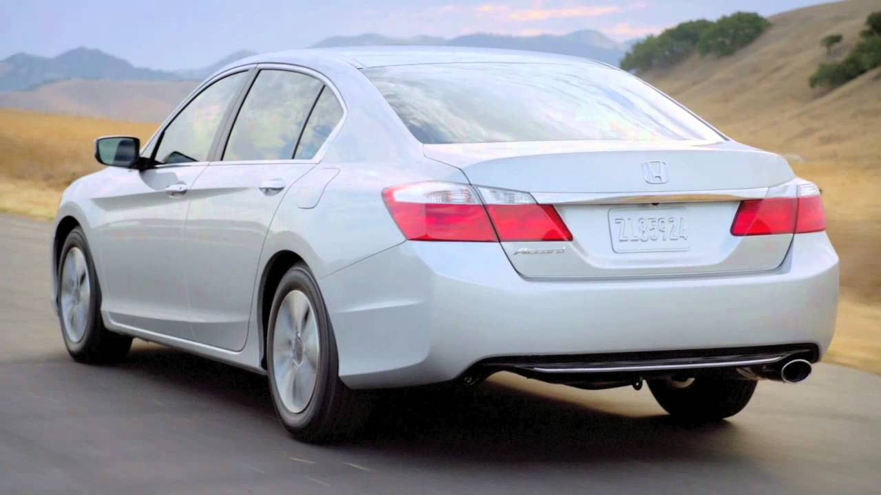 Honda Accord Lx >> 2013 Honda Accord LX Sedan - YouTube