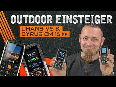 CYRUS CM16 & UHANS V5 🚴 Outdoor Einsteiger? [Vergleich, German, Deutsch]
