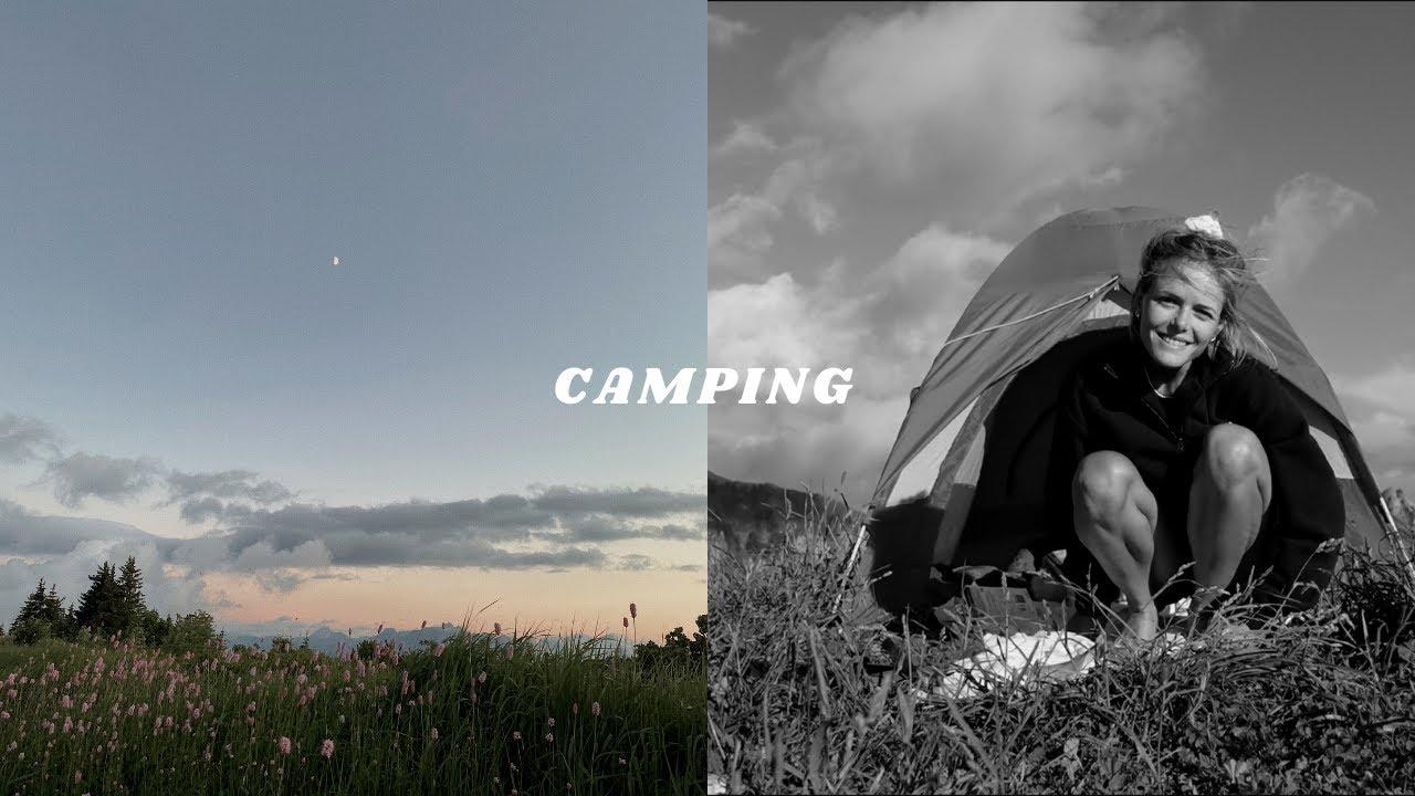 VLOG   We Went Camping!