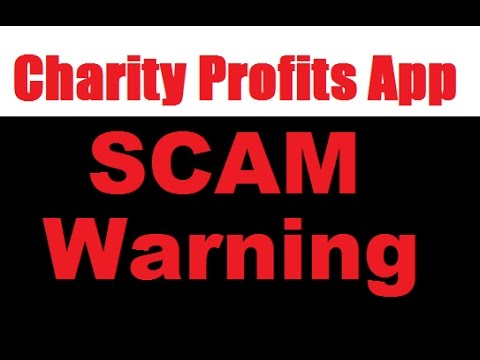 Charity Profits App Review - Corrupt Trading Software SCAM! (ALERT)