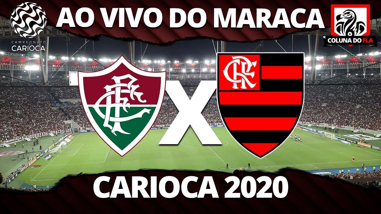 Fluminense X Flamengo Ao Vivo Do Maracana Semifinal Taca