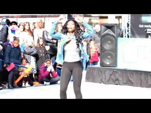 Olivia Francis solo performance @ Romford Liberty Shopping Centre