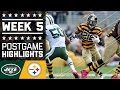 Jets Vs. Steelers | Nfl Week 5 Game Highlights video