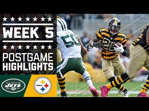 Jets vs. Steelers | NFL Week 5 Game Highlights