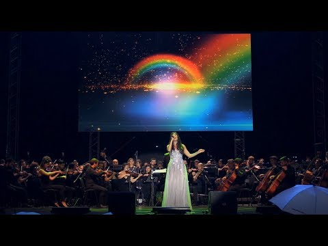 Paula Seling - Somewhere over the rainbow (LIVE with orchestra)