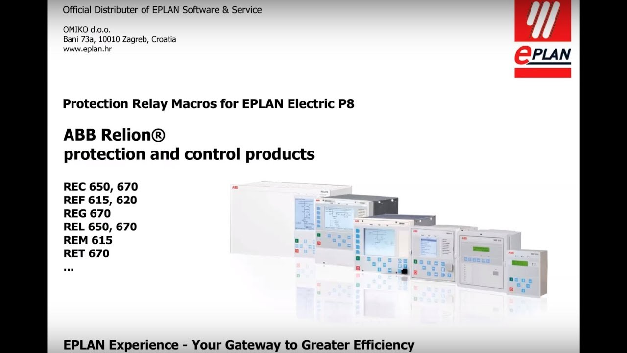 Eplan software solutions - Abb Rtxp Macros For Eplan Electric P8