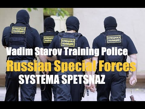 Cop-Luser USA/ Vadim Starov Training Police Russian Special Forces