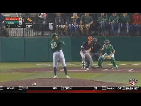 Louisiana baseball best Tulane in extras 5-2