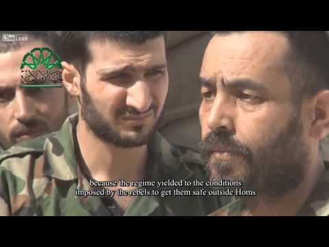Islamic Front Report on the Evacuation of Rebels from Homs City in Summer 2014 [English subtitles]