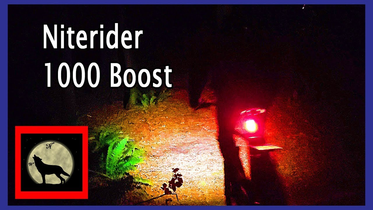 1000 Boost Front Light NiteRider Lumina
