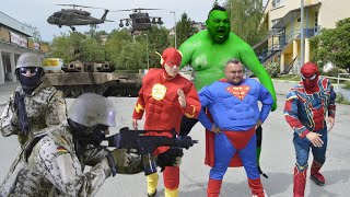 Superheroes VS World Army