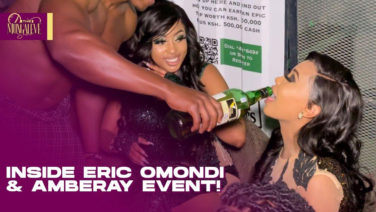 SI USHERATI NI SHEREHE! CRAZ¥ Things That HAPPENED At ERIC OMONDI And AMBERAY'S  EVENT!