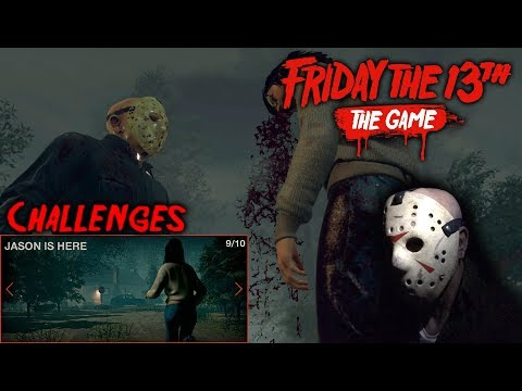 Friday The 13th The Game - Gameplay 2.0 - Challenge 9 - Jason Part 4