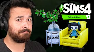 BUILD & BUY Overview - The Sims 4 Paranormal Stuff Pack