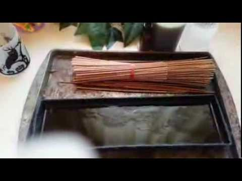 How To Make Scented Incense Sticks At Home: DIY Craft Project