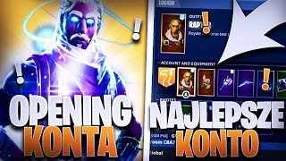 😎 OPENING FORTNITE ACCOUNT 😱 BEST OPENING IN FORTNITE 😊 GIVEWAY