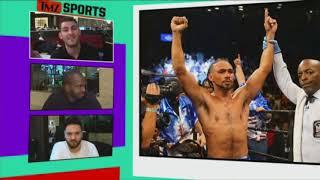 Former Welterweight Champ Keith Thurman Talks Garcia v Porter | TMZ Sports