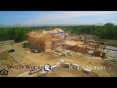 Wesley Woods at New Albany - Aerial Drone Video 2