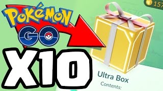 10x ULTRA LARGE HACKED / GLITCHED PRESENT OPENINGS..?!| Pokemon GO Update Limited Edition Presents!