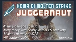 [3.9] HoWA CI Molten Strike Juggernaut Path of Exile Build Guide