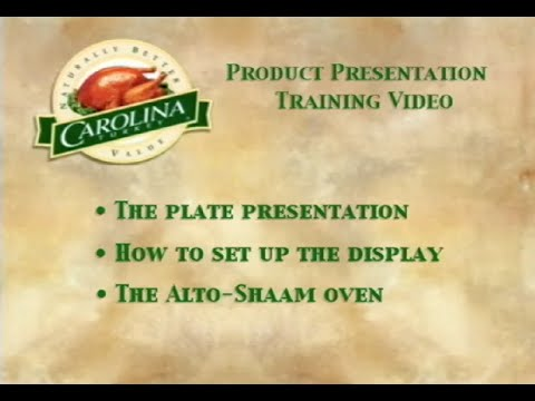Carolina Turkey Product Presentation Guide