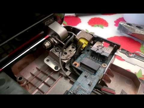 Lenovo E530 hinge problem (fixed with epoxy)