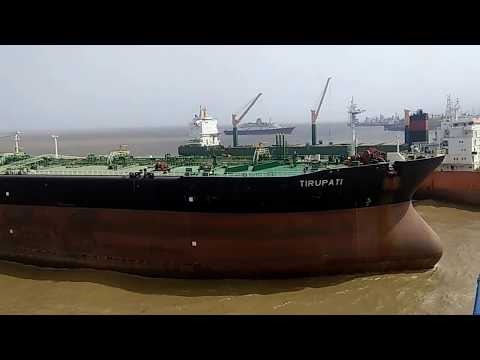 Oil Tanker(Ship) Come For Break At Alang Ship Breaking And Recycling Yard | Ship Breaking