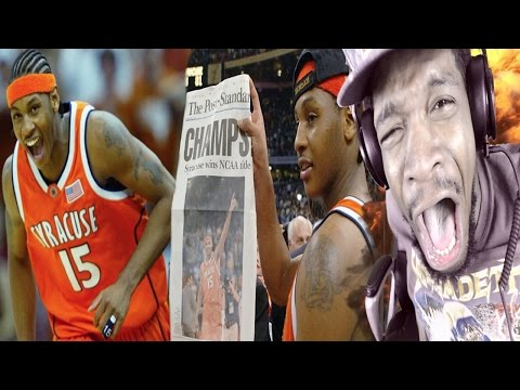 THE HESO GOD!! FRESHMAN CARMELO ANTHONY 33 POINT SYRACUSE FINAL FOUR HIGHLIGHTS REACTION