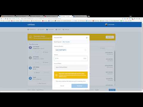 How To Transfer Funds To Coinbase Using Bank Wire And Bank Transfers