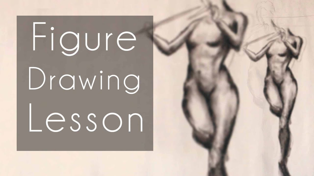 Figure Drawing Lesson (Draw Along: Febuary 16th, 2016) - YouTube