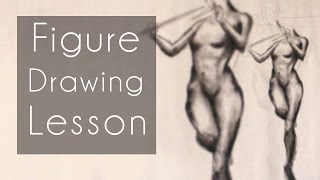 Figure Drawing Lesson (Draw Along: Febuary 16th, 2016)