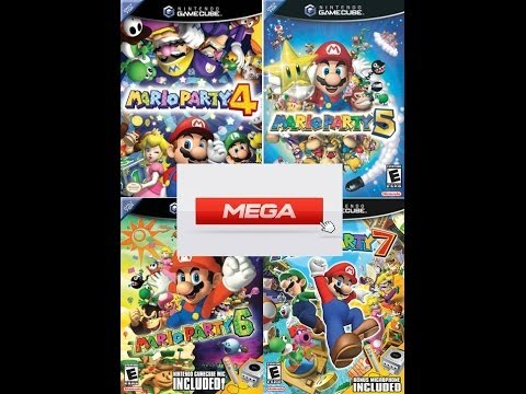 Mario Party 4, 5, 6, 7 GAMECUBE download/descarga 1 link MEGA 2019
