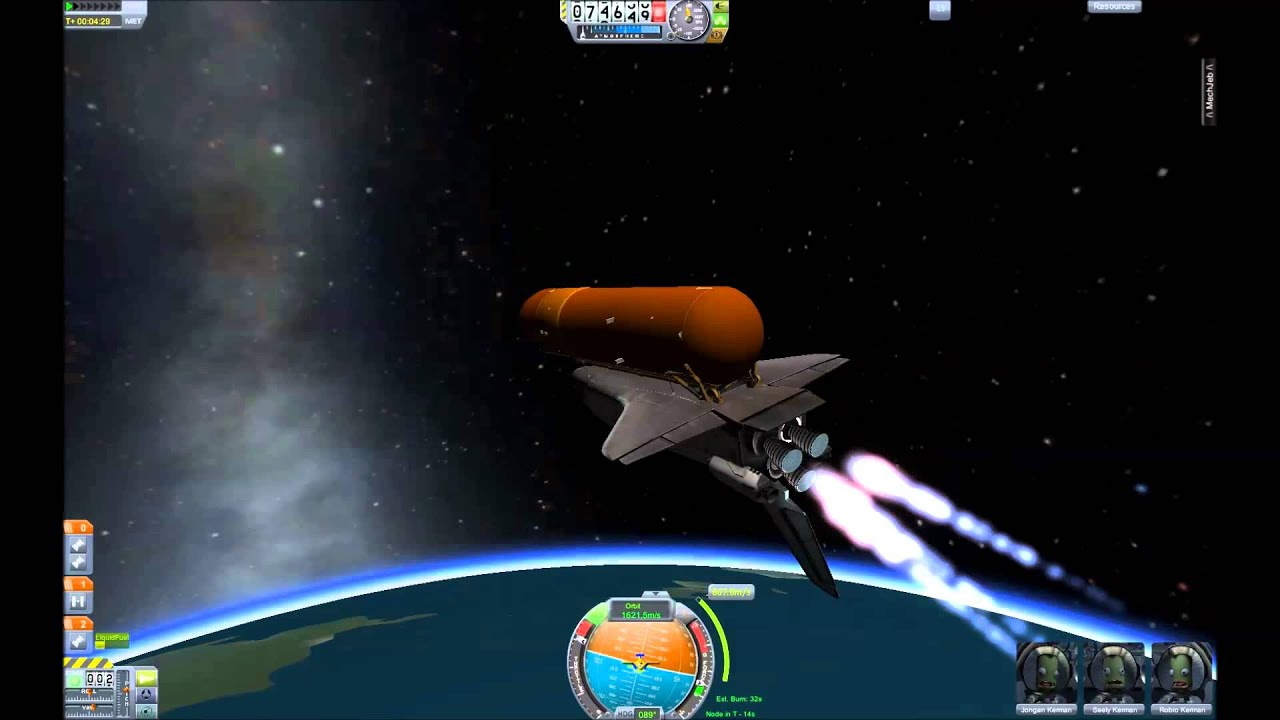 kerbal space program shuttle designs - photo #10